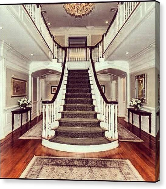 Soccer Leagues Canvas Print - This Is Just The Foyer To A Magnificent by Laffey Fine Homes
