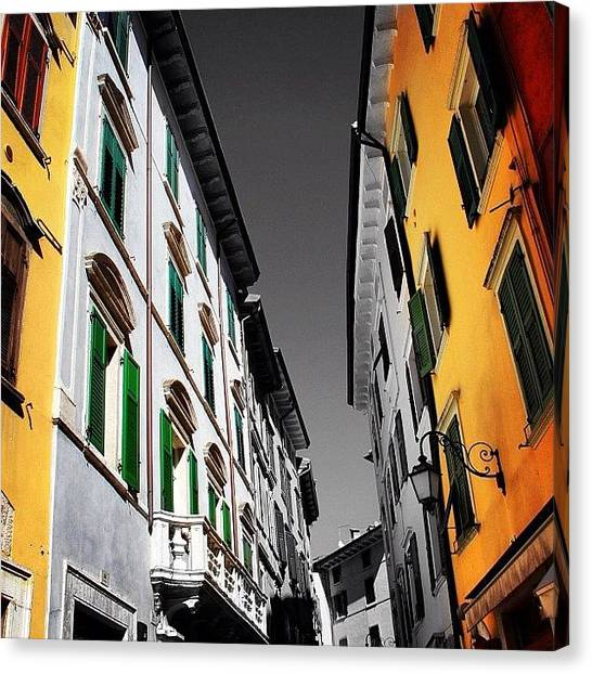 Italy Canvas Print - This Photo Is Available In My by Luisa Azzolini