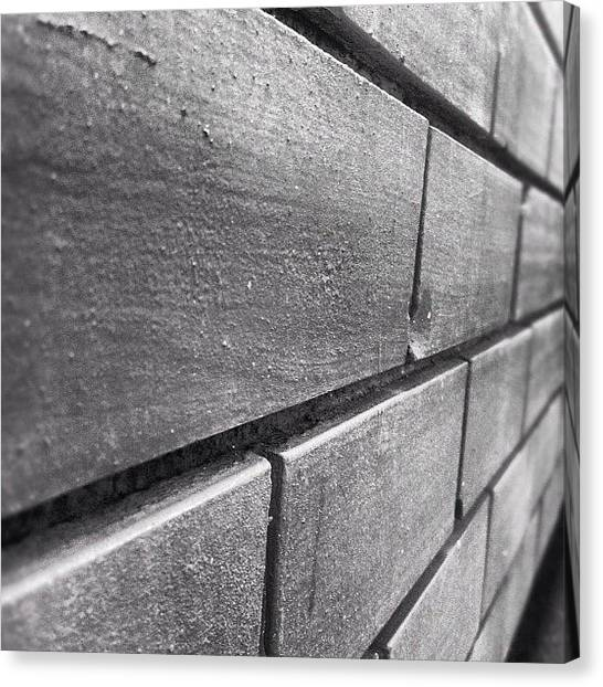 Tetris Canvas Print - This Photo Is Taken Using My #iphone4 by Mario Javier