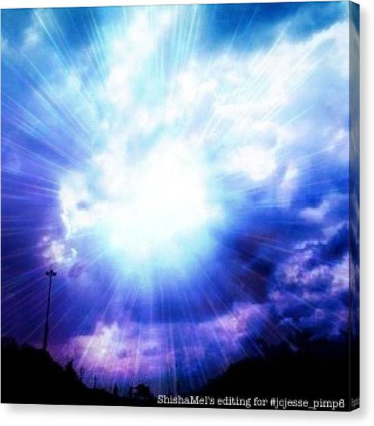 Heaven Canvas Print - This Picture Was Shot By @jcjesse  I by Melanie Stork