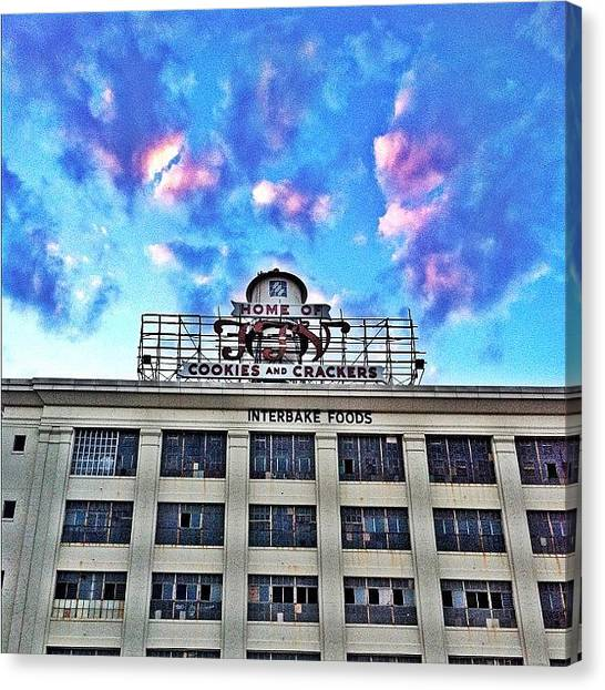 Bands Canvas Print - This Place Needs To Become Apts Or by Clifford Drake