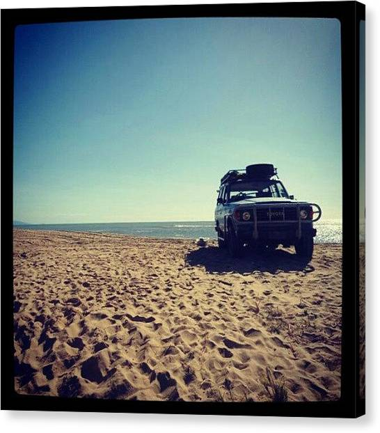 Offroading Canvas Print - This Was A Great Day :) by Natascha Foster