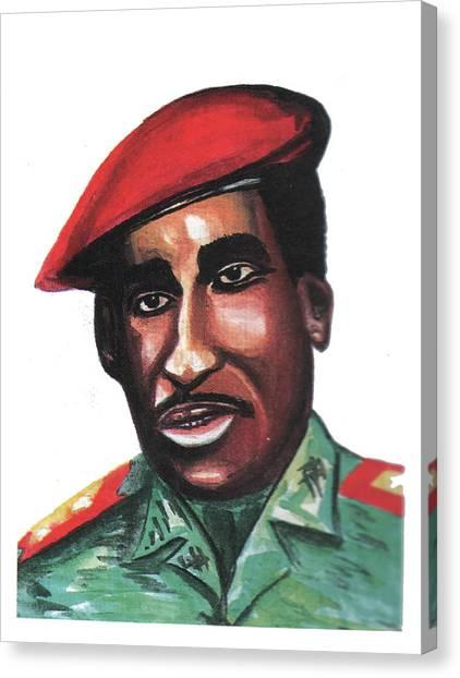 Thomas Sankara Canvas Print