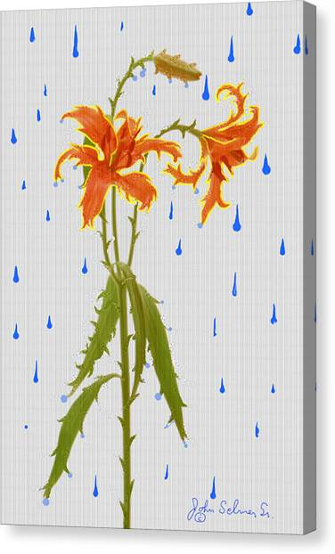 Thornlily Canvas Print