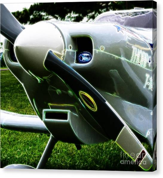 Prop Planes Canvas Print - Thorp T-18 Tiger by Paul Ward