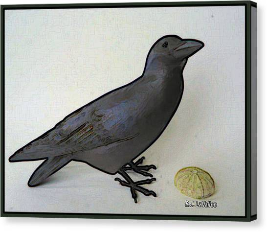 Thoughts Of A Bird Canvas Print