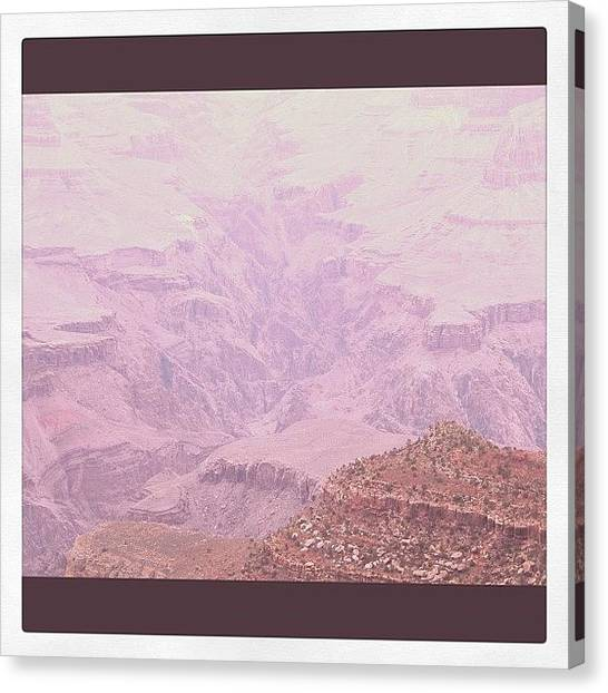 Grand Canyon Canvas Print - Thousands Of Years by Brian Turner