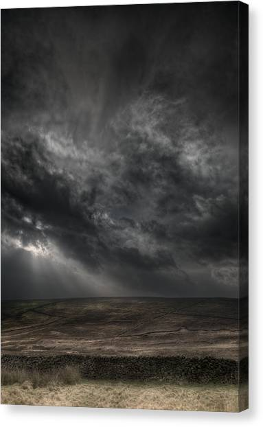 Threatening Skies Canvas Print