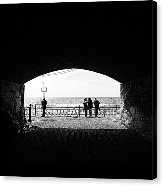 Humans Canvas Print - Three Is A Crowd #ig #igers #iphonesia by A Rey
