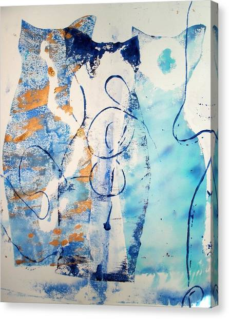 Three Part Harmony Canvas Print