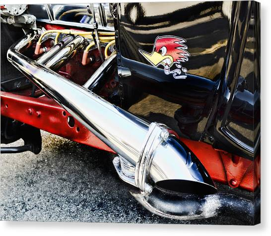Street Rods Canvas Print - Thrush by Peter Chilelli