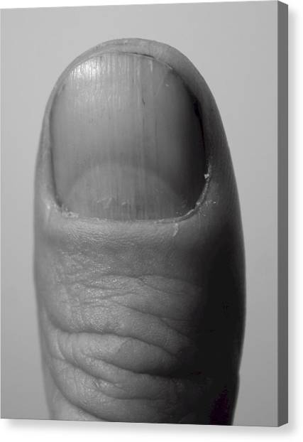 Thumb Canvas Print