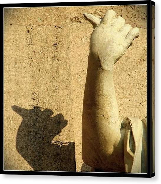 Hands Canvas Print - Thumbs Up For A Fabulous Weekend #hand by A Rey