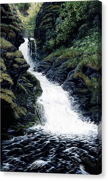 Thunderbird Falls Canvas Print