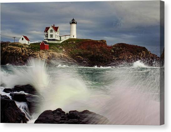 Thundering Tide Canvas Print