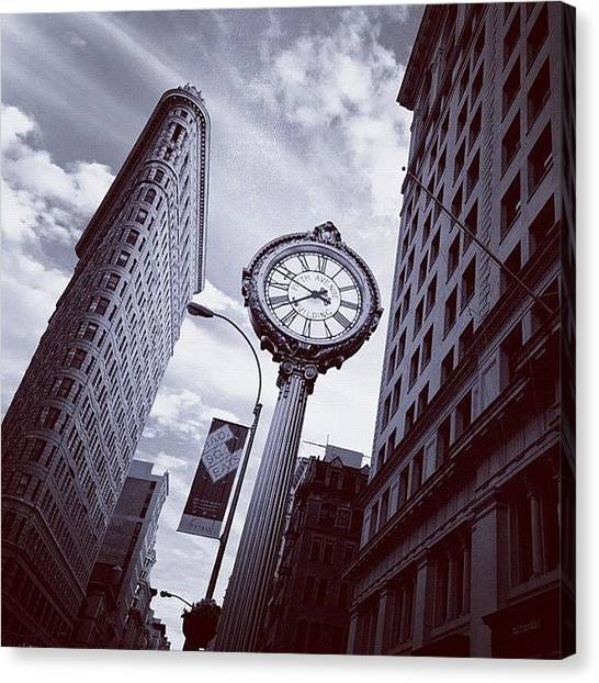 France Canvas Print - Tick Tock by Randy Lemoine