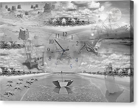Ticks Canvas Print - Tidal Pools by Betsy Knapp