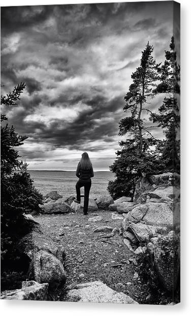 Tide Watcher Canvas Print
