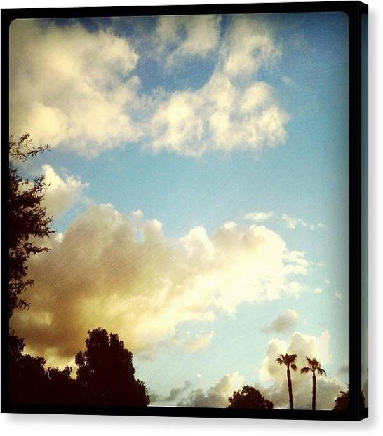 Kids Canvas Print - Till The Clouds Roll By by Kid Culprit