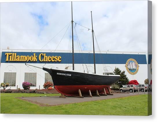Tillamook Boat Canvas Print by Michael Wolfe