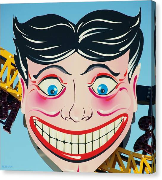 Tillie The Clown Of Coney Island Canvas Print