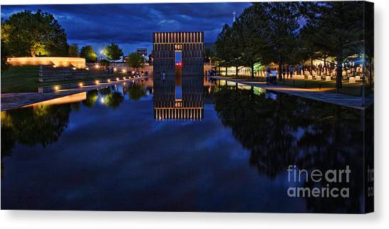 Time For Reflection Canvas Print by Gib Martinez