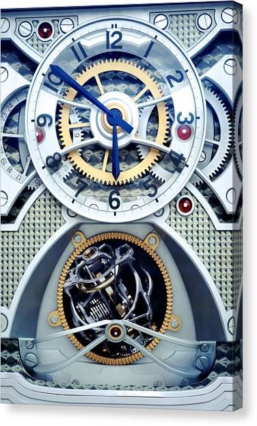Time Keeper Canvas Print by Onder Konuralp