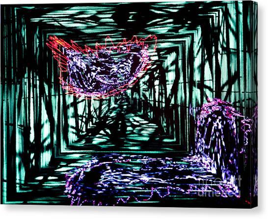 Time Machine 2 Canvas Print by Tashia Peterman