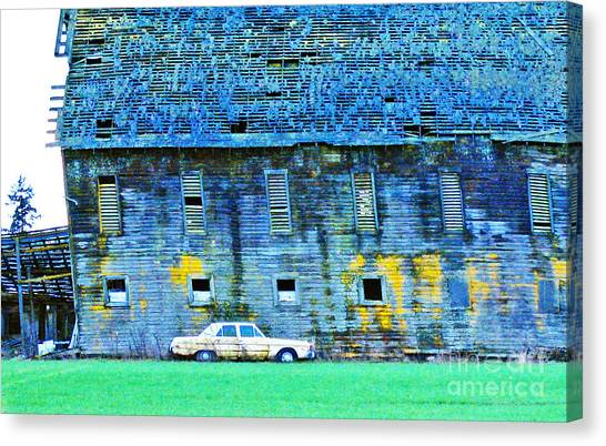 Time Marches On... Canvas Print by Margaret Hood