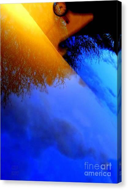 Time Wave Canvas Print
