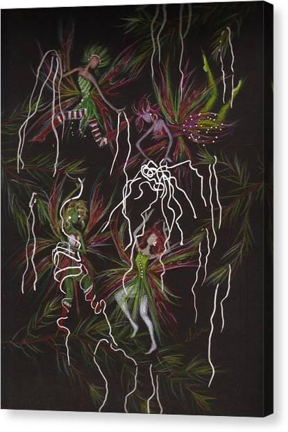 Tinsel War Canvas Print