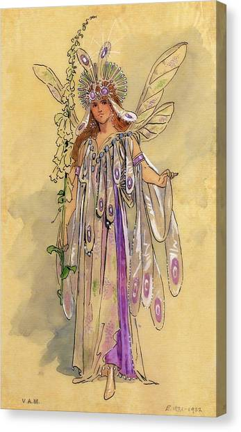 Shakespeare Canvas Print - Titania Queen Of The Fairies A Midsummer Night's Dream by C Wilhelm