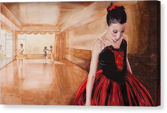 To Dance To Dream Canvas Print by Kathy Michels