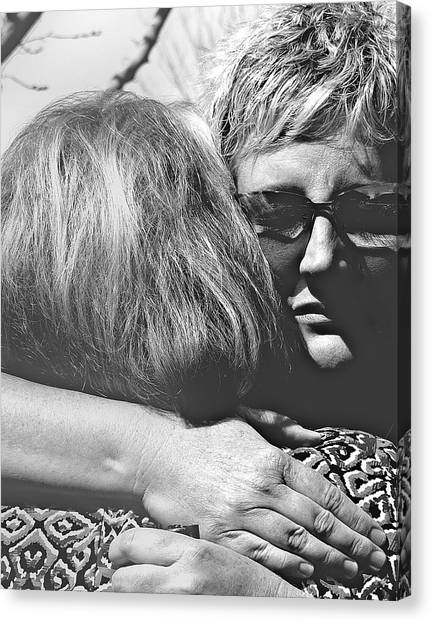 Thoughful Canvas Print - To Love by Steven Milner