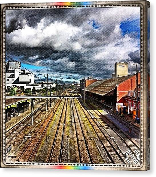 Swiss Canvas Print - To Win A #prize, E.g. A #canon_eos_600d by Mr Etso