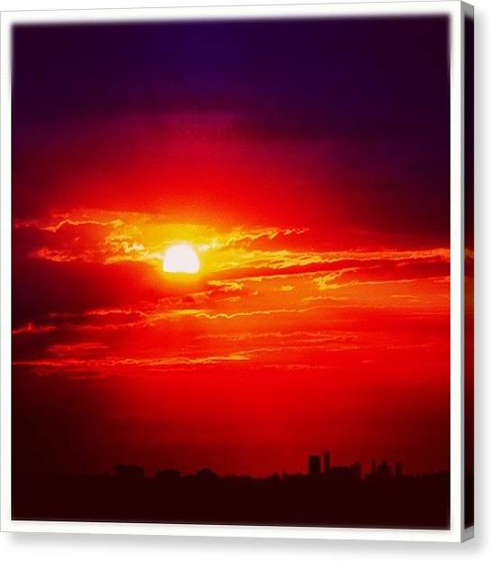 Ontario Canvas Print - #today #early #am #capture #mississauga by Christinaashley Huynh