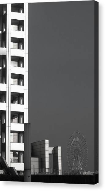 Subway Canvas Print - Tokyo's Devil's Wheel by Naxart Studio