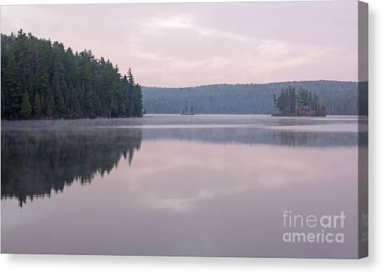 Tom Thomson Lake Vista Canvas Print by Chris Hill