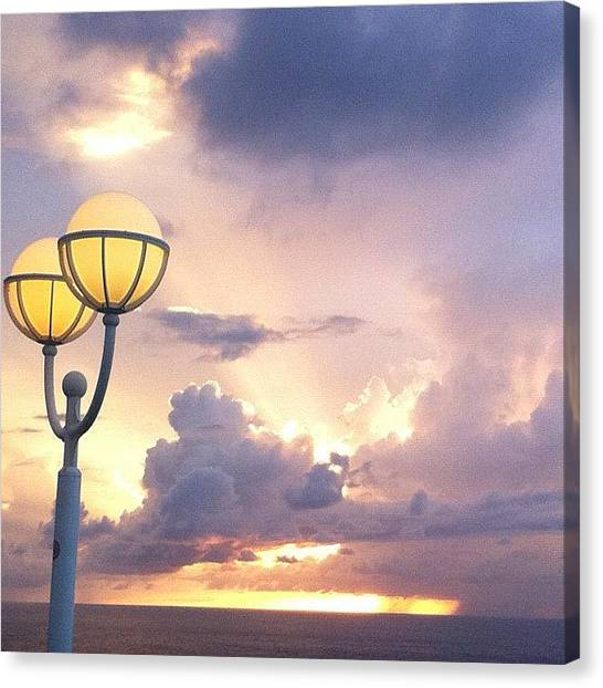 Bahamas Canvas Print - Took This With My Iphone 4 On The by Dallas Pollard
