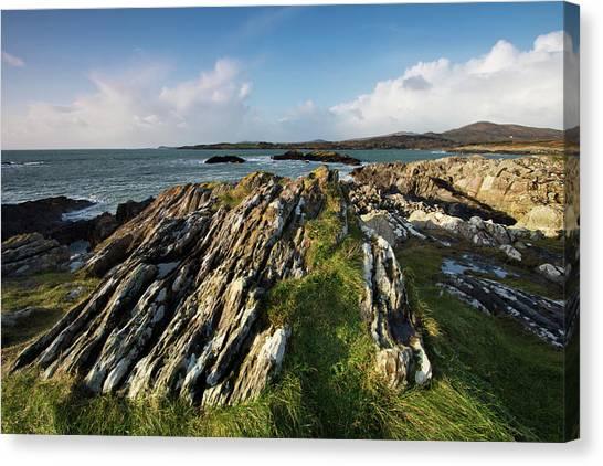 Toormore Coastline Ireland Canvas Print