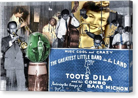 Toots Dila And Band Canvas Print