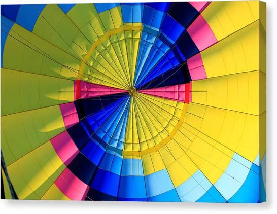 Top Of The Envelope Canvas Print by Mark Codington