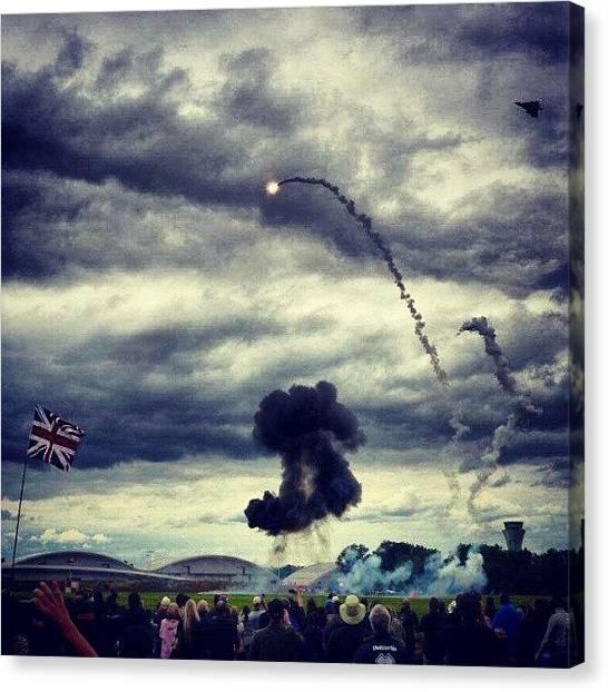 Tornadoes Canvas Print - #tornado #attack! #farn12 #fia12 by Henry Wisdom