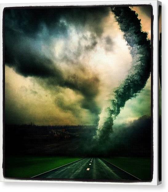 Tornadoes Canvas Print - #tornado #filtermania2 #instamood by Shawnna Smith