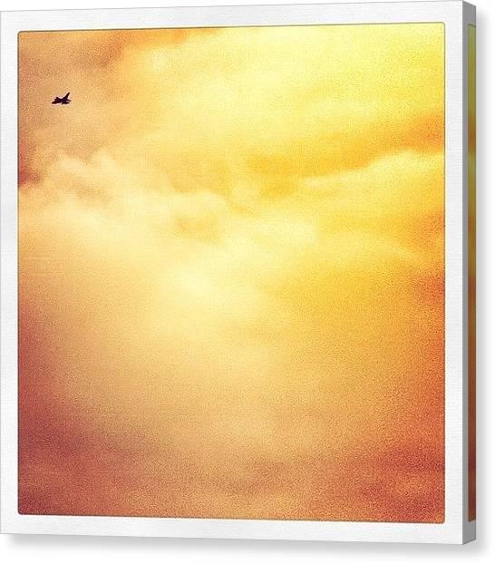 Tornadoes Canvas Print - Tornado Sunset #tornado #fighter #plane by Robert Campbell