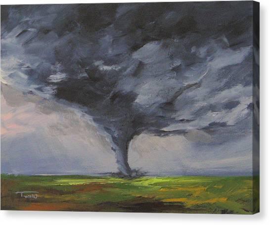 Tornado Viii Canvas Print