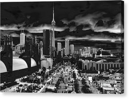 Toronto And The Ex Canvas Print