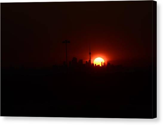 Toronto Sunrise Canvas Print