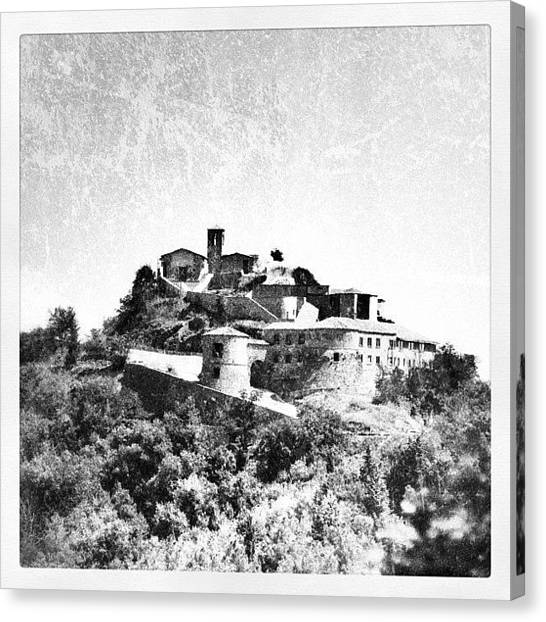 Still Life Canvas Print - Torriana Castle by Chi ha paura del buio NextSolarStorm Project