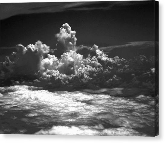 Totem Cloud Canvas Print